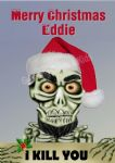 Personalised Achmed 'I Kill You' Christmas Card